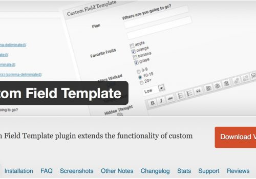 Custom Field Templateを使ってみた